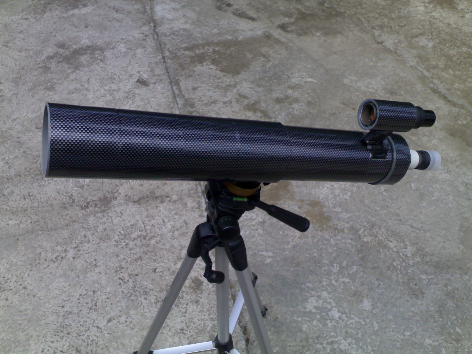Ekspresi qw ..: membuat teleskop refraktor