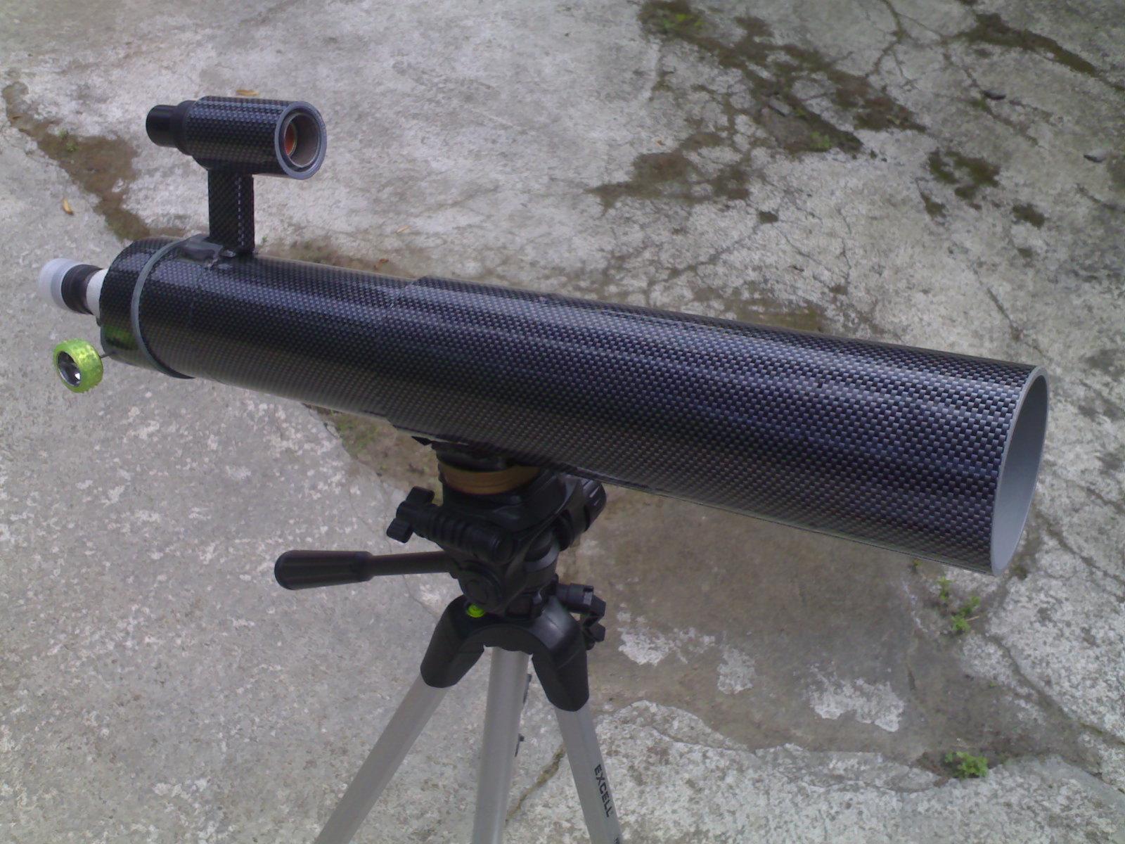 Membuat teleskop refraktor pagid